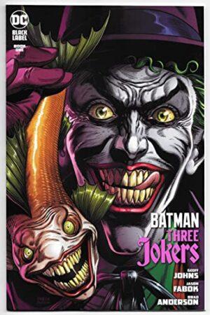 BATMAN: THREE JOKERS #1 PORTADA D CON CARTA