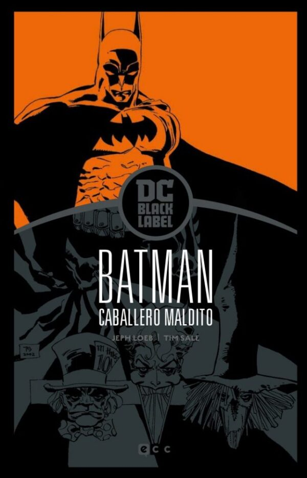 BATMAN: CABALLERO MALDITO (BIBLIOTECA DC BLACK LABEL)