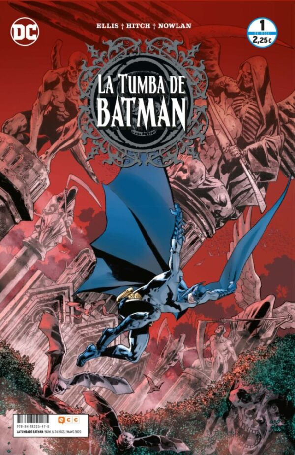 La Tumba de Batman (PACK 5 NUMEROS)