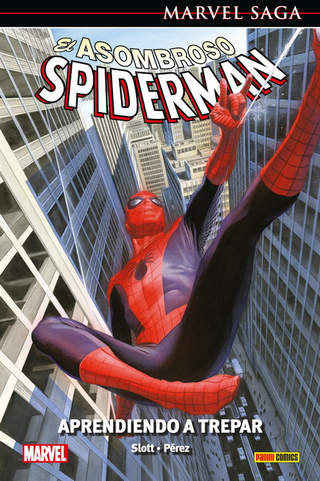 Marvel Saga. El Asombroso Spiderman 45 Aprendiendo a trepar