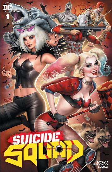 Suicide Squad #1 Firmada por Nathan Szerdy Exclusiva + Certificado