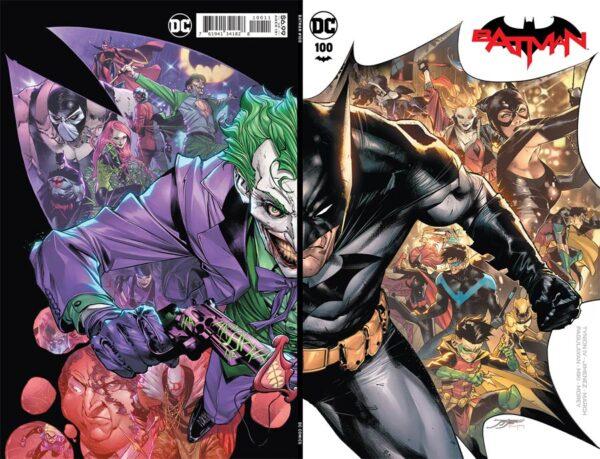 Batman Vol 3 #100 Cover A Regular Jorge Jimenez