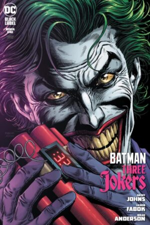 BATMAN: THREE JOKERS #1 PORTADA E (CON CARTA)