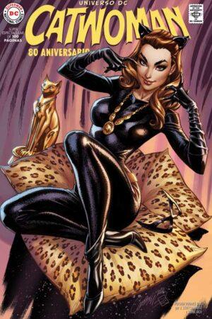 Catwoman 80 Aniversario Portada 2
