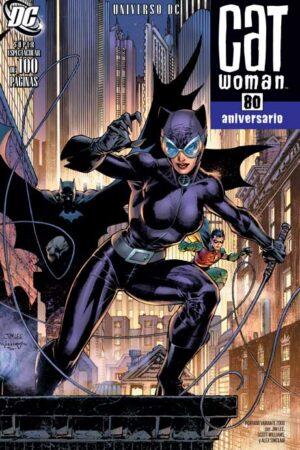 Catwoman 80 Aniversario Portada 4