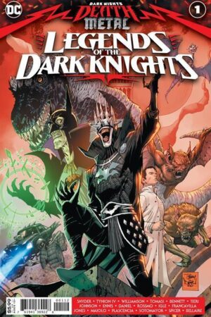 DC DEATH METAL - LEGENDS OF THE DARK KNIGHTS