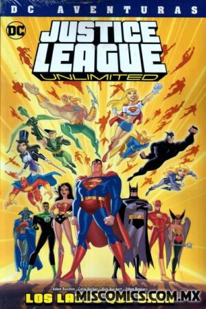JUSTICE LEAGUE UNLIMITED: LAZOS QUE UNEN