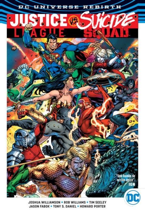 DC Comics Deluxe: Justice League vs. Suicide Squad