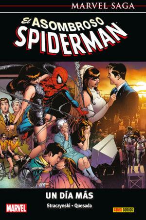 Marvel Saga Spiderman 13 - UN DIA MAS
