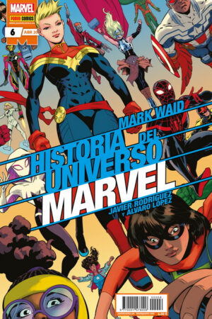 Historia del Universo Marvel 6 - Grapa Normal