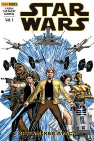 GRAPAS STAR WARS 6 A 17 (PANINI CHILE)